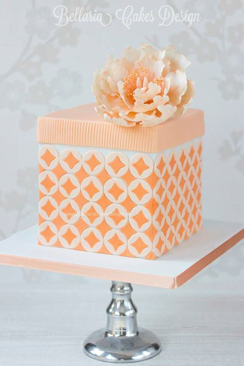 Bellaria Cake Designs Weddings, Peony